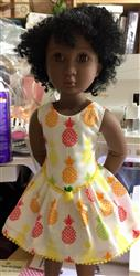 Gwyndolyn L. verified customer review of Mackenzie Dress Pattern for AGAT Dolls