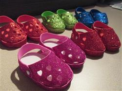No-Sew Foam Clogs 18 Doll Shoes