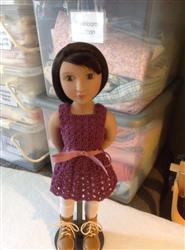 JUDITH*WILLIAMS verified customer review of Whispering Winds Crochet Pattern for AGAT Dolls