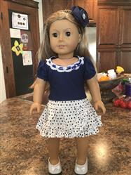 ginnie verified customer review of Basking in Ruffles 18 Doll Clothes