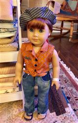 DEBRA HENRICKS verified customer review of The Friendship Garden Tie Blouse and Friendship Bracelets 18 Doll Clothes Pattern
