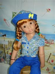 briant m. verified customer review of The Friendship Garden Tie Blouse and Friendship Bracelets 18 Doll Clothes Pattern