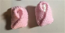 Debbie P. verified customer review of FREE Susie Slippers Knitting Pattern