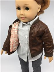 Diane B. verified customer review of Avila Aviator Jacket 18 Doll Clothes Pattern