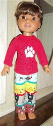 Nancy M. verified customer review of Piccadilly PJs 14.5 Inch Doll Clothes Pattern