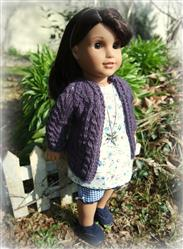 Alexandra  verified customer review of Melanie Top and Capri Pants 18 Doll Clothes Pattern