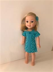 Kathleen A. verified customer review of Sunshine Dress 14.5 Doll Clothes Pattern