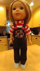Carol J. verified customer review of Oh My Gosh! Overalls 14.5 Doll Clothes Pattern