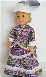 Judith J. verified customer review of 1870's Bustle Dress 18 Doll Clothes Pattern