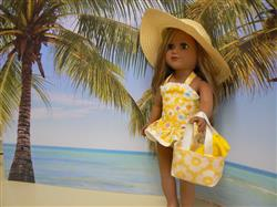 The One-Piece Bathing Suit 18 Doll Clothes