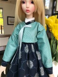 Irene W. verified customer review of Korean Hanbok 18 Doll Clothes