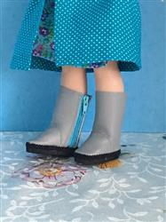 Basic Side-Zip Boots 14.5 Doll Clothes Pattern