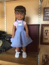 Tamara S. verified customer review of Circle Skirt Overalls 14-14.5 Doll Clothes Pattern