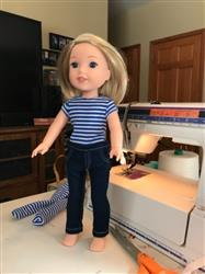 Lois Schwamman verified customer review of Jeans Bundle 14.5 Inch Doll Clothes Pattern