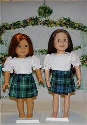 Lynne T. verified customer review of Sofie's Retro Kilt Skirt 18 Doll Clothes Pattern