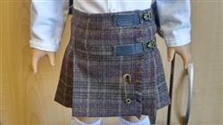 Andrea W. verified customer review of Sofie's Retro Kilt Skirt 18 Doll Clothes Pattern