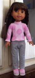 Nancy M. verified customer review of T-Shirt Variations 14.5 Inch Doll Clothes Pattern