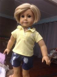 FREE Polo Shirt 18 Doll Clothes Pattern