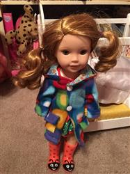 Margaret E. verified customer review of Oxford Square Coat 14 - 14.5 Inch Doll Clothes Pattern