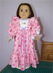 Ruffled Nightgown 18 Doll Clothes