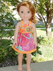 Jana verified customer review of Carly's Dress 14.5 Doll Clothes Pattern