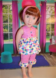 April B. verified customer review of Strawberry Patch for AGAT Dolls
