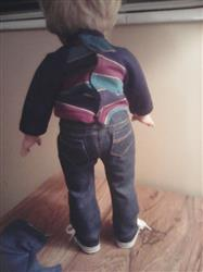 Dena G. verified customer review of Boy Doll Jeans Bundle 18 Doll Clothes Pattern