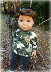 "Alexandra verified customer review of Boy Doll Baseball T-Shirt 18"" Doll Clothes Pattern"