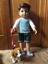 "Mae L. verified customer review of Boy Doll Baseball T-Shirt 18"" Doll Clothes Pattern"