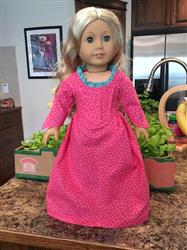 Betsy Ross Shop Dress 18 Doll Clothes
