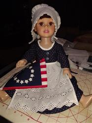 Joanna Jackson verified customer review of Women of History:  Betsy Ross Bundle 18 Doll Clothes
