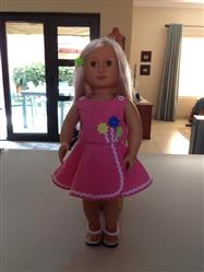 Anne-Marie S. verified customer review of Lollipop Garden Dress 18 Doll Clothes Pattern