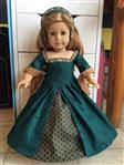 3 Looks-In-One Tudor Ensemble 18 Doll Clothes Pattern