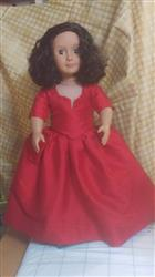 Terri D. verified customer review of 1750's Dress with Panniers Multi-sized Pattern for Regular and Slim 18 Dolls