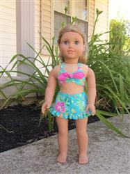 Susan B. verified customer review of Aloha Vintage Swimsuit 18 Doll Clothes Pattern