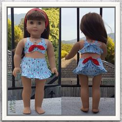 Linda O. verified customer review of Aloha Vintage Swimsuit 18 Doll Clothes Pattern