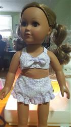Michele G. verified customer review of Aloha Vintage Swimsuit 18 Doll Clothes Pattern