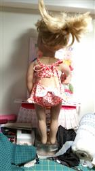 Lita B. verified customer review of Aloha Vintage Swimsuit 18 Doll Clothes Pattern