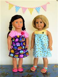 Bloomer Buddies 18 Doll Clothes Pattern