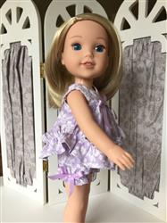 Michele A. verified customer review of Ruffled Shortie Set 14.5 Doll Clothes Pattern