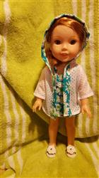 Judith Pitcock verified customer review of Sofie's Just For Wovens Swimsuit & Coverup 14.5 Doll Clothes Pattern