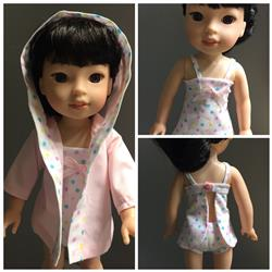 Donna F.  verified customer review of Sofie's Just For Wovens Swimsuit & Coverup 14.5 Doll Clothes Pattern