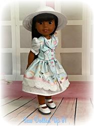 Julie H. verified customer review of Fairy Tale Fantasy 14-14.5 Doll Clothes Pattern