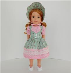 Joan verified customer review of Fairy Tale Fantasy 14-14.5 Doll Clothes Pattern