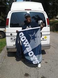 Adam C. verified customer review of Dallas Cowboys 12 Helmet Car Magnet