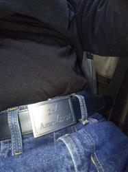 Kevin C. verified customer review of The 2nd Amendment Pewter Buckle Black PreciseFit™ EDC Belt