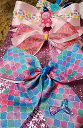 Mayra Y. verified customer review of 1.5 Pink Ice Cream PARTY Grosgrain RIBBON