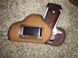 Brad K. verified customer review of Inside The Waistband Nylon Fitted Holster