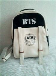 Naomi P. verified customer review of BTS Bangtan Boys Leather Backpack