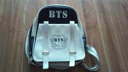 Turnerlyne B. verified customer review of BTS Bangtan Boys Leather Backpack